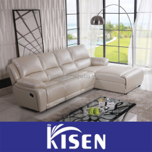 European Genuine Leather Recliner Sofa for Sale