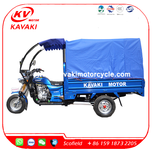 KAVAKI Motorized Taxi Motorcycle Tuk Tuk Passenger Three Wheel Motorcycle for sale