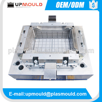 custom maded mold plastic seafood crate mould/molds