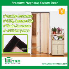 Insect Screen Magnetic Mesh Curtain Fit Single Door, Sliding Door, Rv