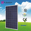 Latest technology good quality lg solar panel 250 watt poly