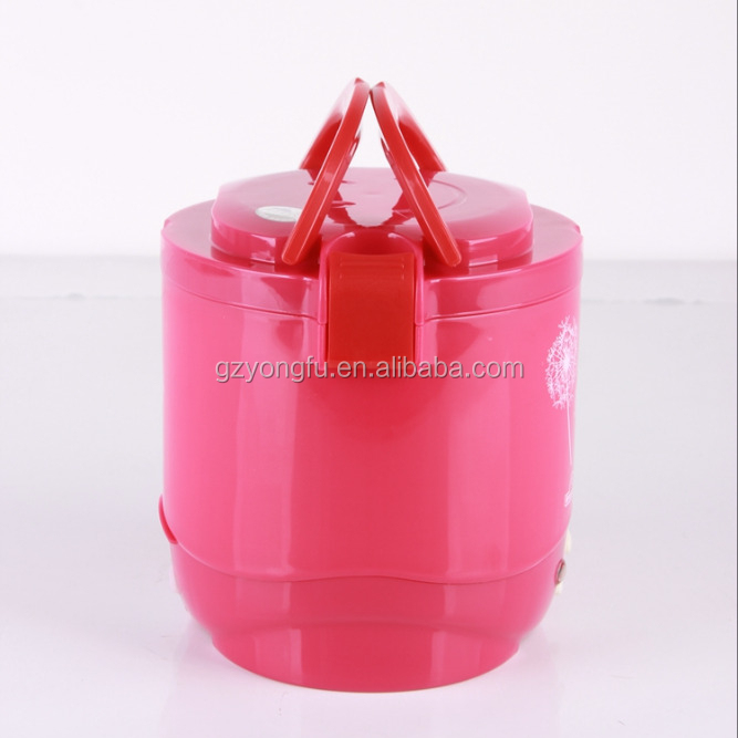 Fashion stainless steel wellful mini rice cooker for car use portable electric mini rice cooker