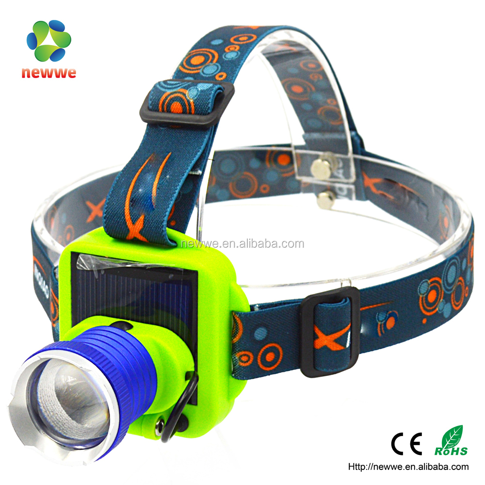 2016 new product design solar led headlight