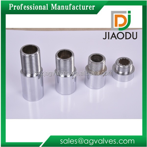 JD-1919 Brass pipe extension nipple