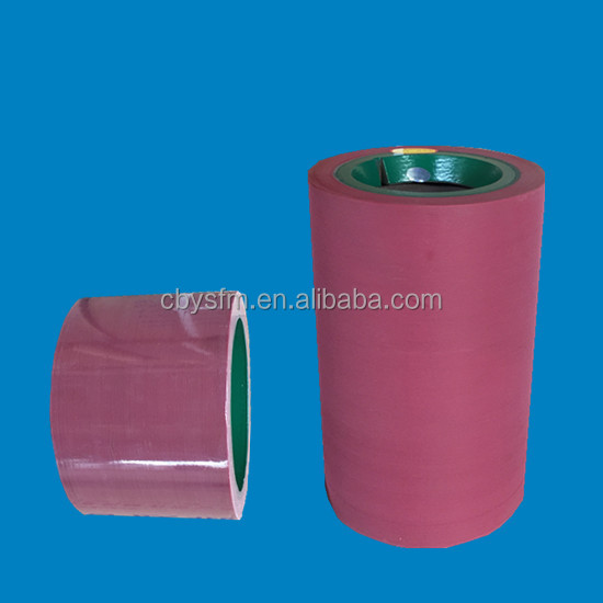 Iron drum epdm rubber roller in paddy husker machine