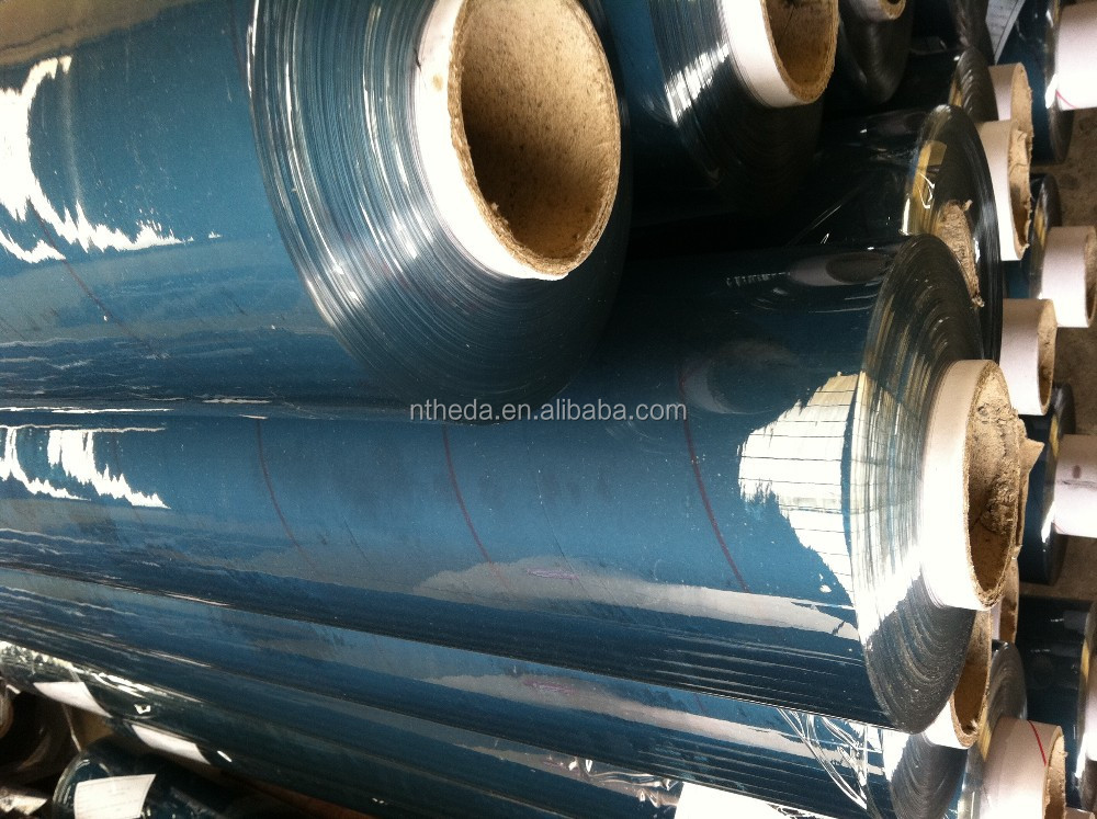 PLASTIC PVC CLEAR SHEET for bag material