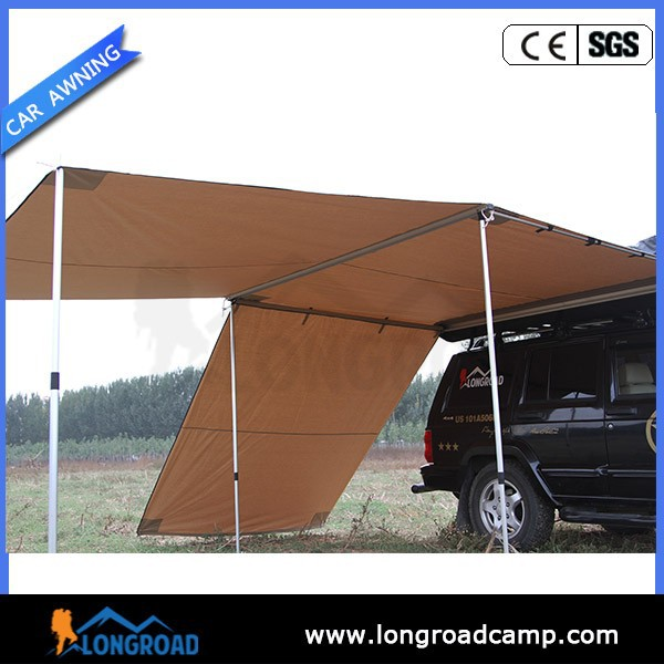Waterproof Durable Offroad Retractable Foxwing Car Awning