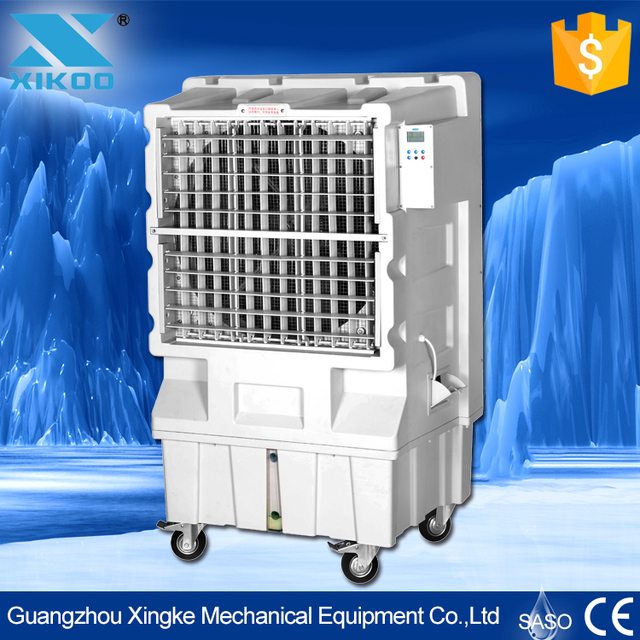 auto protection water air cooler for workshop with evaporative cooler cleaner