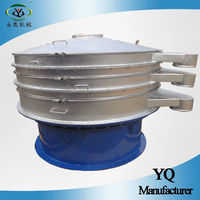 screening plant powders vibro sifter with 2-600 mesh sieve