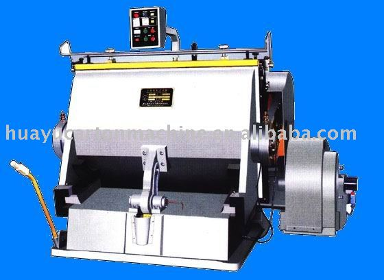 Jv series of die cutting and creasing machine