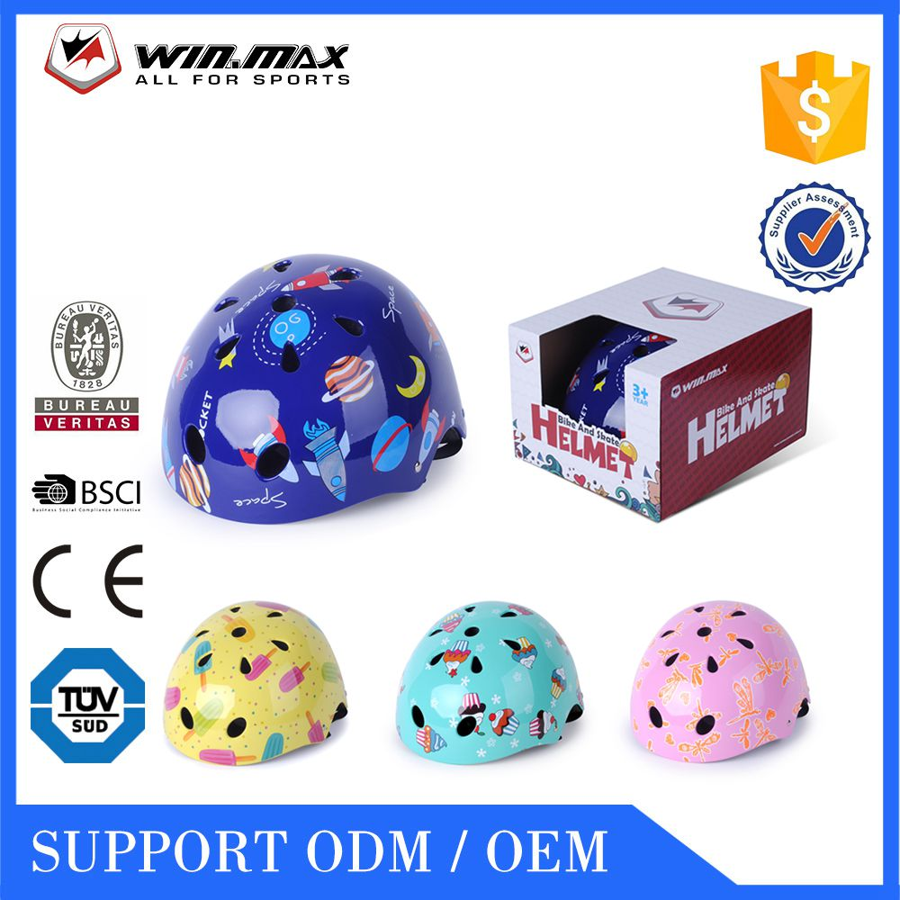 2017 WINMAX ABS+EPS custom skate scooter children bicycle helmet manufacturer