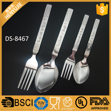 Custom made dinnerware sets elegant flatware cutlery set with gift box