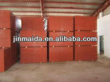 hot sale red 12mm densified film faced plywood supplier from china