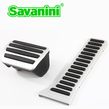 Savanini car Accelerator Gas and Brake pedal pad no drilling for Mazda Axela, Atenza, CX-5 auto cars aluminum alloy!