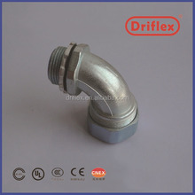 90d elbow zinc alloyed emt conduit connectors