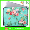 Hot Selling Newest design flower neoprene laptop sleeve
