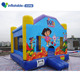 Factory price kids inflatable jungle jumping bouncer castle for sale