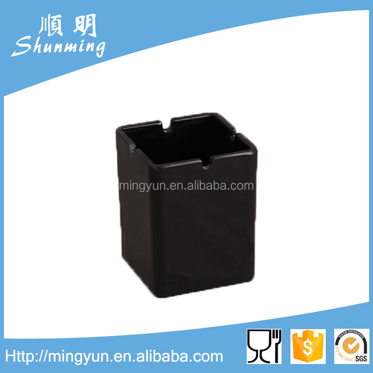 plastic melamine ashtray