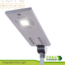 All in one led solar street BLVD garden light 20W
