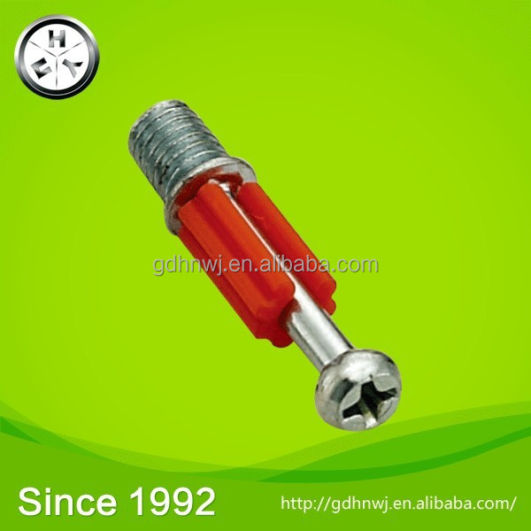 22 years old history high quality/black/red Iron connecting bolt in furniture(CB1711)