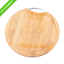 Antibacterial Bamboo Cutting Board with Groove