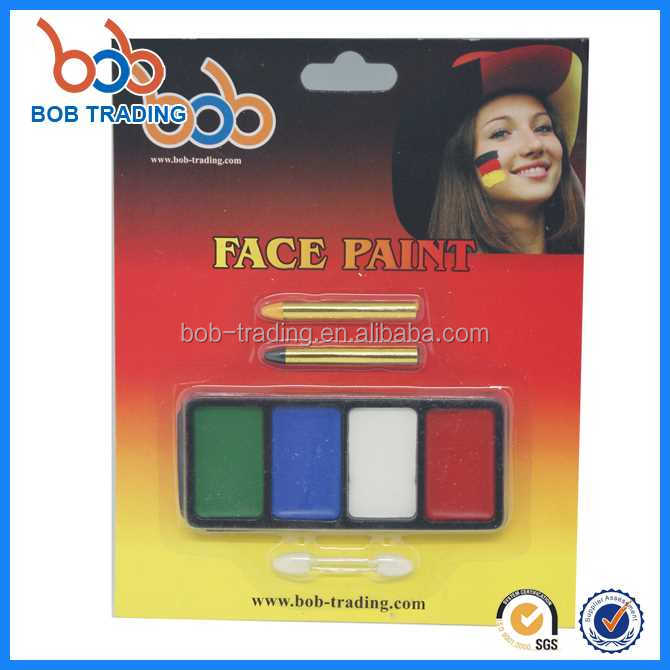 nice price original Germany series face paint germany flag argentina flag face painting