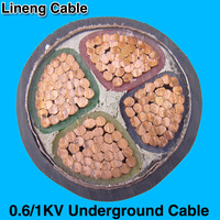 Lineng 0.6/1KV Copper 4 core 95mm Power Cable