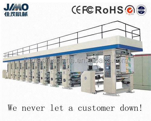 BOPP, PET, Paper High-speed Computer Gravure Printing Machine