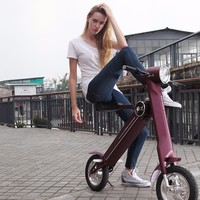 Folding types electric mini scooter for adult , foldable electric scooter