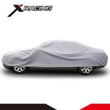 Xracing EACC-001XL Retractable inflatable fast folding garage fabric waterproof car parking cover