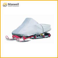 All Weather Protection Elasticized Bottom Hem Snowmobile Cover