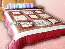 100% cotton embroidery popular comforter