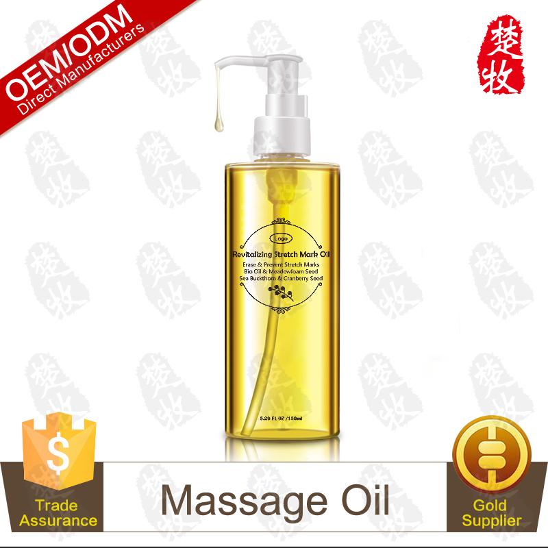 Private Label Organic Stretch Mark & Scar Treatment,Nourishing Body Oil to Reduce, Remove & Prevent Pregnancy Stretch Marks