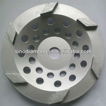 180mm diamond cup grinding wheel for glue removing