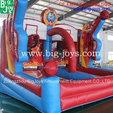 Inflatable Basketball Hoop Shootout Games, Inflatable Basketball Court, Custom-made Inflatable Basketball Game