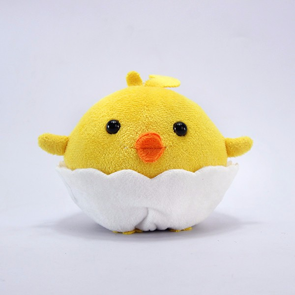 2017 Top Quality Cute Plush toy chicken lays eggs