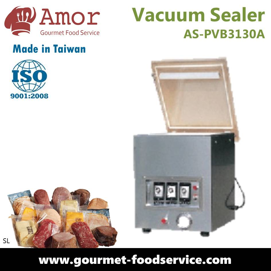 Food and Meat One Chamber food Packing Vacuum Sealer