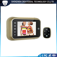3.5 Inch HD Digital Door Peepholes Vision Eye Camera Viewer with Night Version