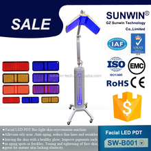 best products for import!! blue red yellow led light skin tightening therapy chromotherapy machine