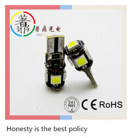 Wholesale Canbus T10 5smd 5050 LED car led Light Canbus W5W Error Free car width/trunk White Light Bulbs