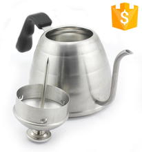 Large Pour Over Coffee Tea Drip Kettle Stainless Steel Electric Turkish Coffee Kettle