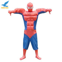Cool toy 2015 Cosplay Amazing Superhero spiderman Mascot costume for adults