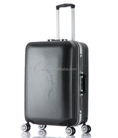 aluminum frame abs+pc trolley luggage