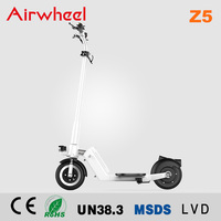 Electric mobility kick scooter black color with CE certification Airwheel Z5 for lady