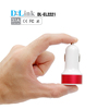 white color portable aluminium input 12v 24v output 5v 3.1a electronic cigarette usb charger wholesale ce rohs