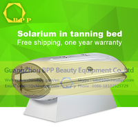 2016latest with high quality led lampsolarium tanning bed