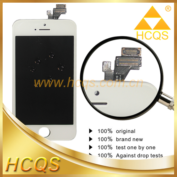 Smartphone parts AAA lcd digitizer for iphone 5 with top quality,for iphone lcd digitizer,for iphone lcd screen