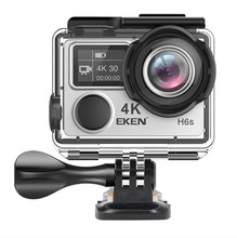 2018 New Arrival Action Camera EKEN H6S 4K 30fps EIS Sport Camera Full Time Image Stabilizer 170 Degree Lens WiFi Control 14MP