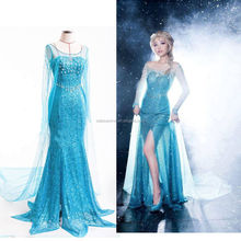 2016 Anna cosplay costume custom good for young lady
