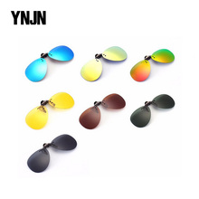 Fast delivery CE FDA fashion uv400 steampunk polarized clip on sunglasses